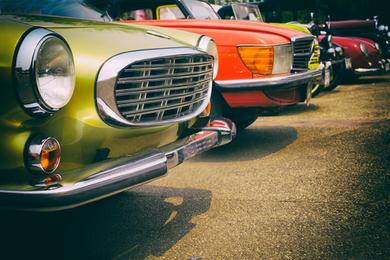 Rallye en voitures d'époque
