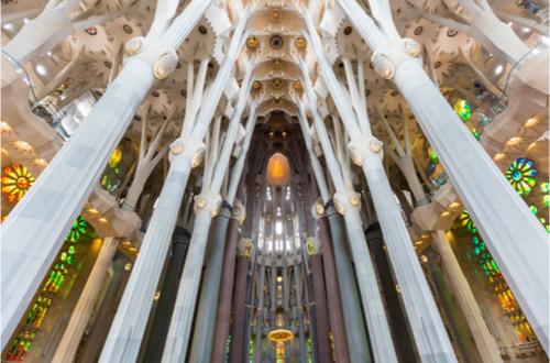 Intérieur Sagrada Familia