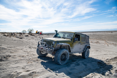 Excursion 4x4 dans le désert