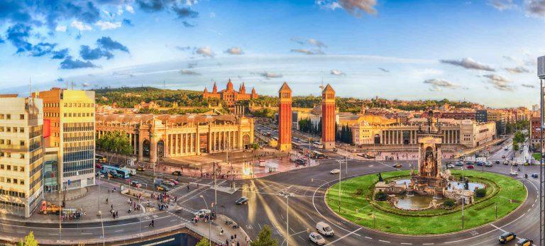 <strong>Plaza Espanya : la porte d'entrée de la ville</strong>