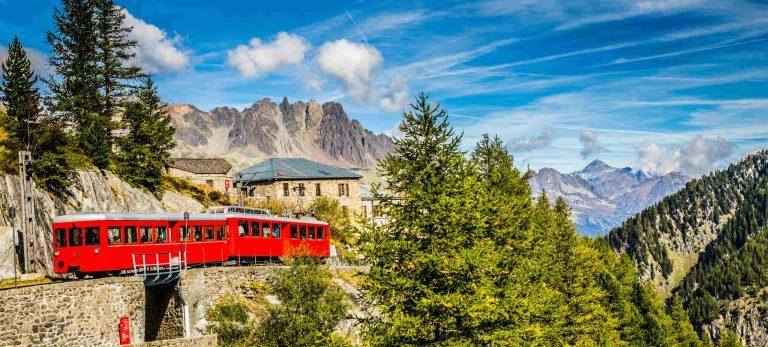 <strong>Train du Montenvers jusqu'à la Mer de Glace</strong>