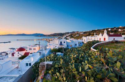 Visite de Chora, la perle de Mykonos