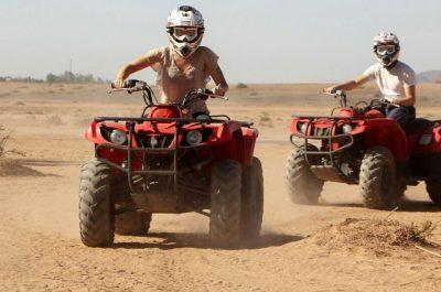 Randonnée quad dans le désert d'Agafay