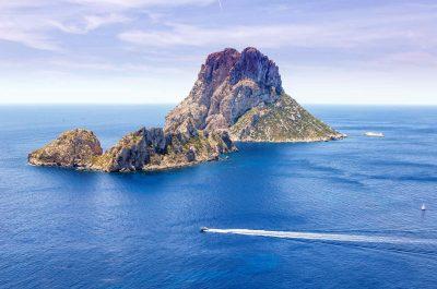 Croisière jusqu'à Es Vedra, l'icône d'Ibiza