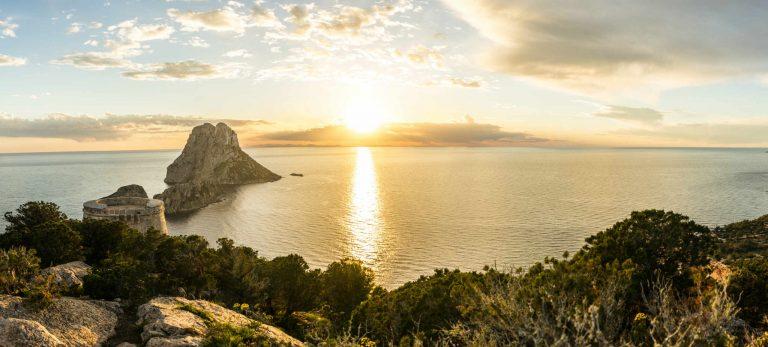<strong>Coucher de soleil sur Es Vedra, le symbole d'Ibiza</strong>