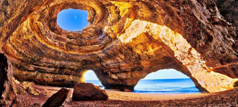 <b>Grotte marine de Benagil - Algarve</b>