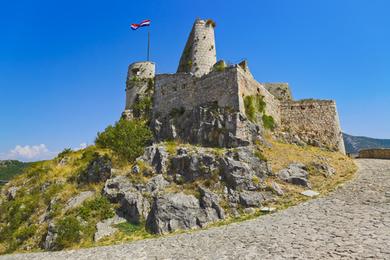 Cocktail dans la forteresse de Klis
