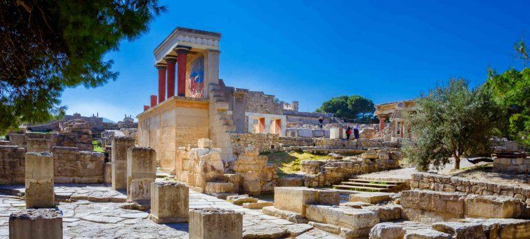 Palais de Knossos en Crète