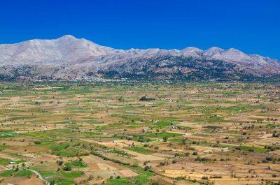 Plateau de Lassithi et grotte du mont Dicté