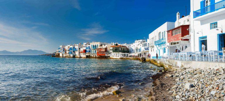 <strong>Promenade sur la <em>Petite Venise</em> de Mykonos</strong>