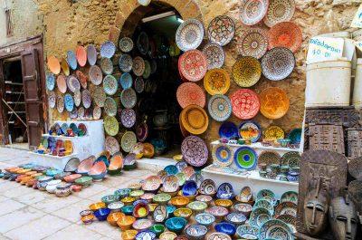 Shopping dans la Médina de Marrakech
