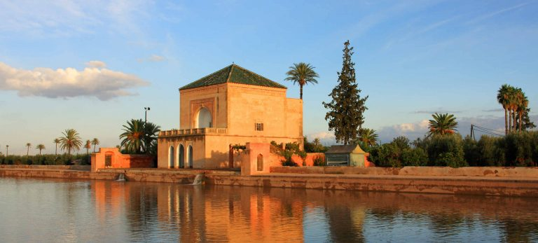 Ménara, l'un des plus beaux jardins de Marrakech