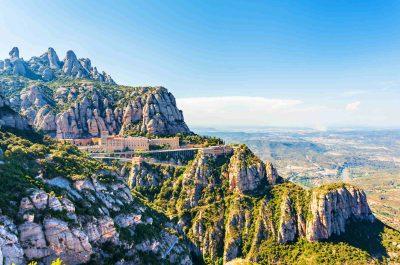 Randonnée à Montserrat