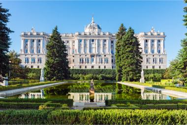 Madrid : le Palais Royal et ses jardins