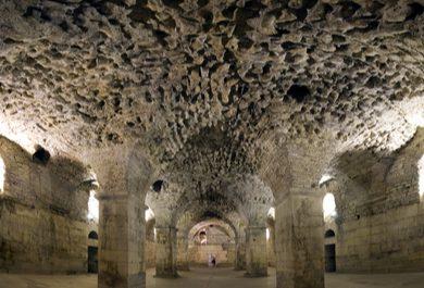 Dîner dans les caves du Palais de Diocletien