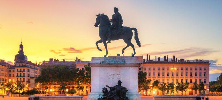 <strong>La place Bellecour, patrimoine mondial de l'Unesco</strong>