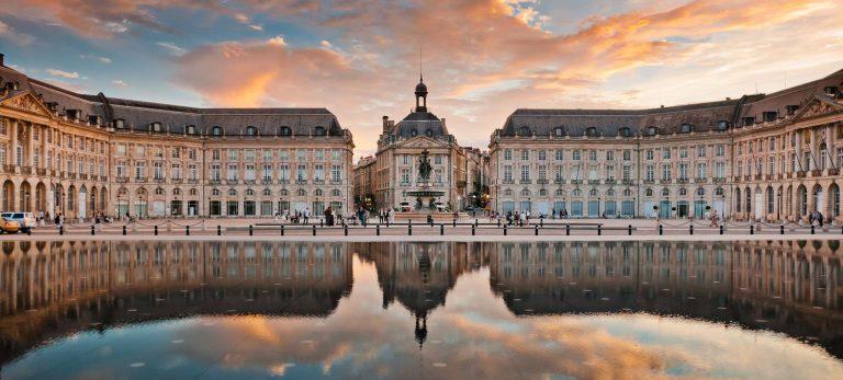 <strong>Place de la Bourse à Bordeaux</strong>