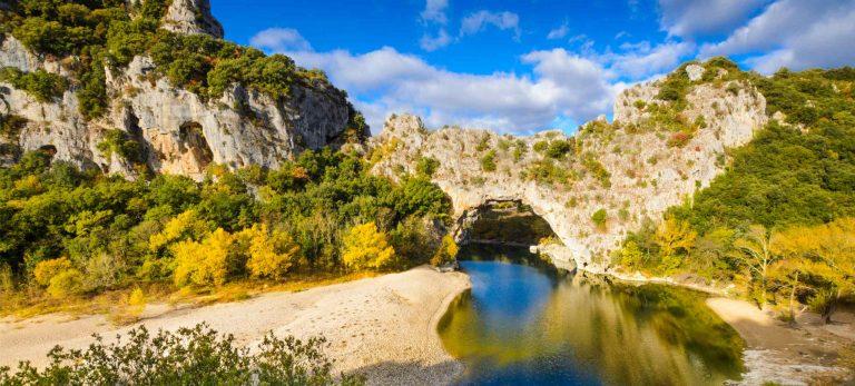 <strong>Le Pont d'Arc en Ardèche</strong>