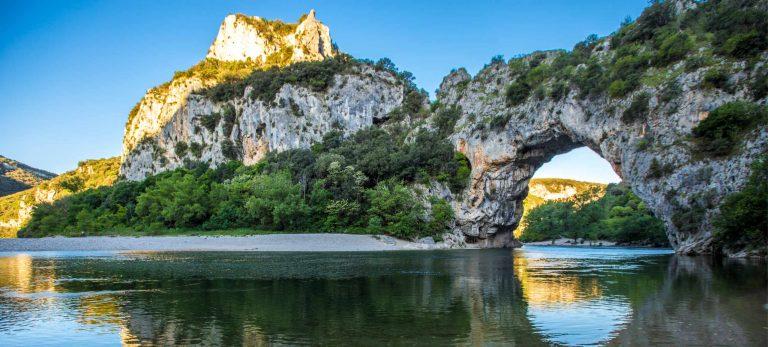 <strong>Le magnifique Pont d'Arc en Ardèche</strong>