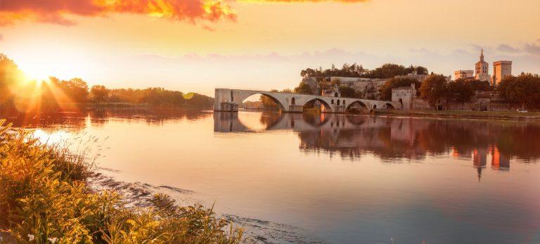 <strong>Le célèbre Pont d'Avignon</strong>