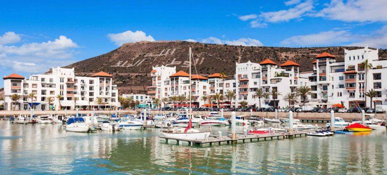 <strong>Le port d'Agadir</strong>