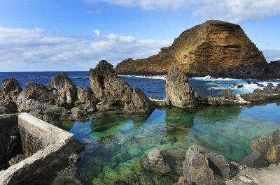 Les piscines naturelles de Porto Moniz à Madère