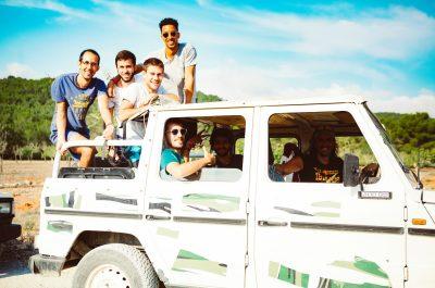 Safari jeep à Mykonos