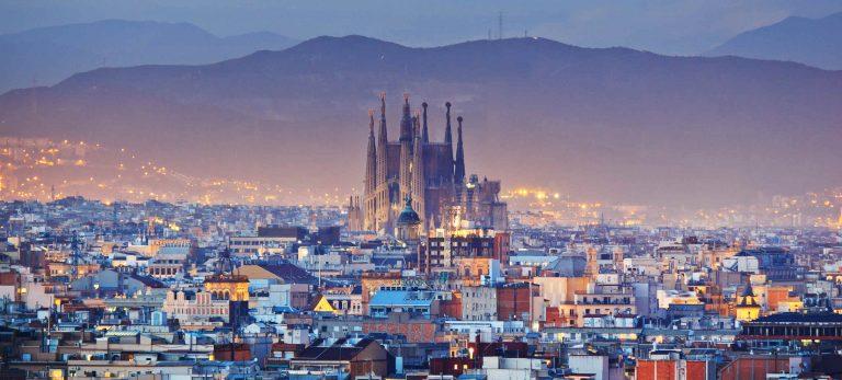 <strong>L'imposante Sagrada Familia au coeur de la ville</strong>