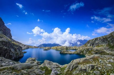 Randonnée au lac Cornu à Chamonix
