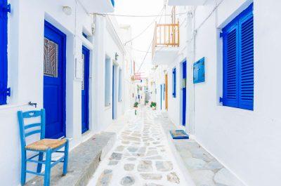 Déambuler dans les rues de Chora à Mykonos