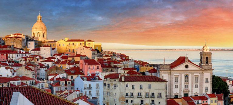 <b>Le quartier de l'Alfama à Lisbonne</b>