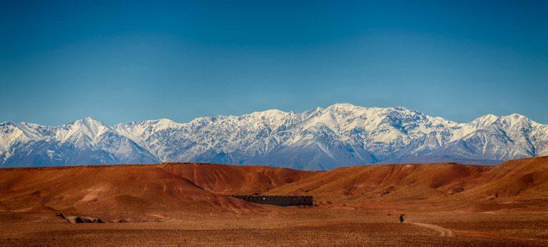 L'incroyable chaine de montagnes de l'Atlas