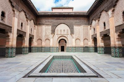 Visite de la Medersa Ben Youssef