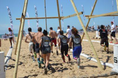 Olympiades sur la plage