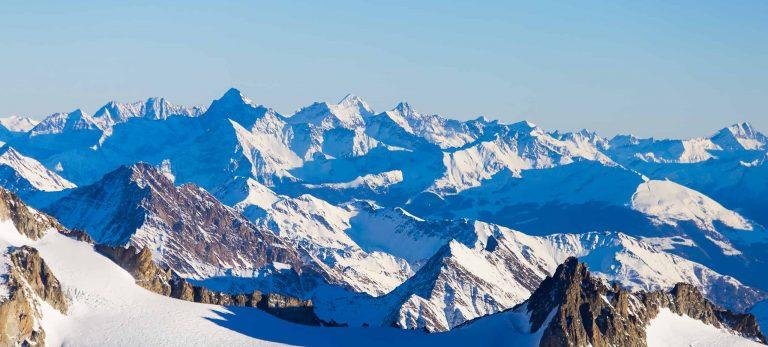 <strong>La chaîne du Mont-Blanc</strong>