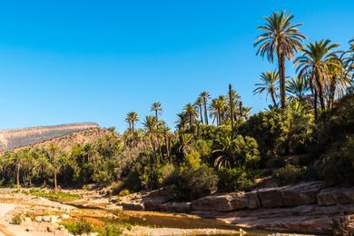 La Vallée du Paradis, près d'Agadir